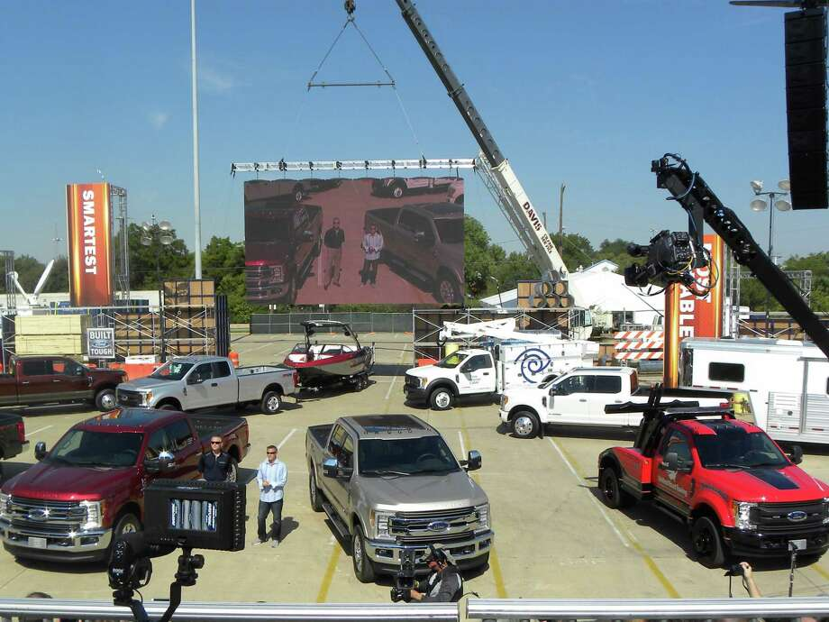 The 2017 Ford F-Series Super Duty was revealed at the Texas State Fair. The truck built at Ford's Kentucky Truck Plant, arrives at dealerships in the fall of 2016. Photo: Picasa
