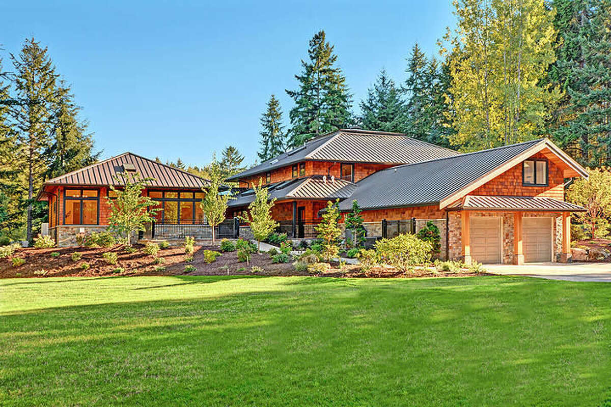 The property is at 8911 N.E. Wardwell Road on Bainbridge Island. It is listed for $3.78 million.