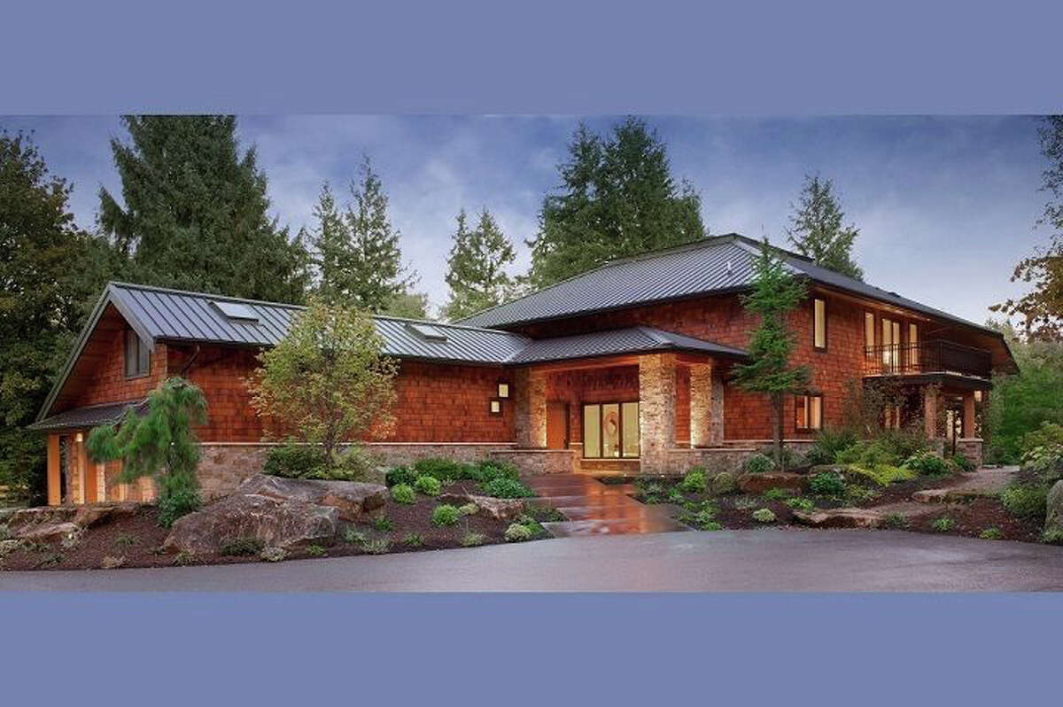 This house on Bainbridge Island is an estate or perhaps retreat. It is set on almost 12 acres. The full listing is here.