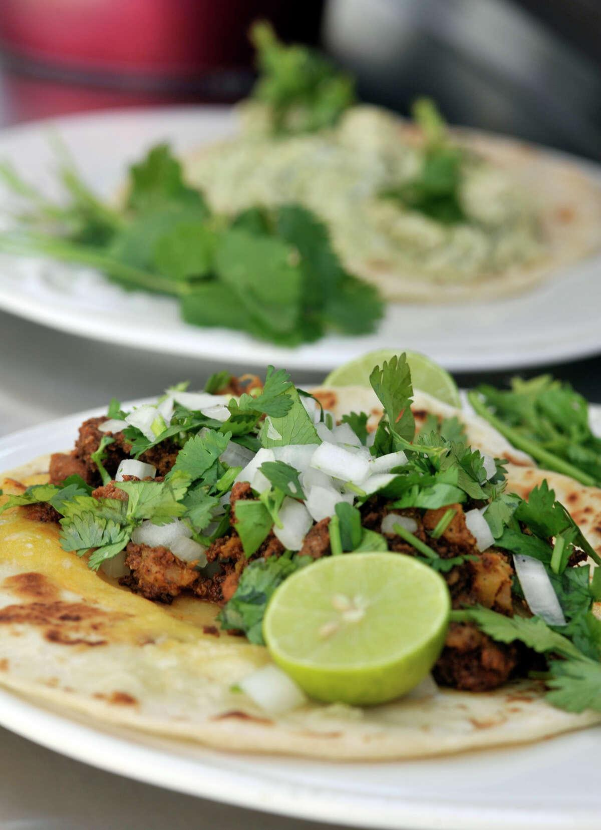 Chela's Tacos , 14530 Roadrunner Way - Chicken Al Cilantro