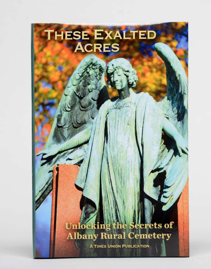 """These Exalted Acres"" book cover Tuesday, May 19, 2015, at the Times Union in Colonie, N.Y. (Will Waldron/Times Union) Photo: WW"