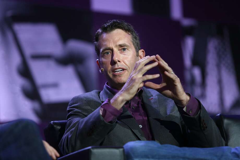 Uber chief advisor and board member David Plouffe speaks during the Next: Economy conference in San Francisco, California, on Friday, November 3, 2015. Photo: Liz Hafalia, The Chronicle