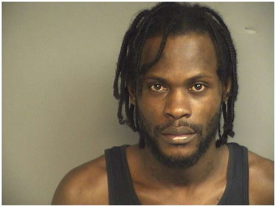Omar Wright, 31, of Stamford, was charged Thursday with threatening a family member with a pellet gun. Photo: Contributed Photo / Stamford Police / Stamford Advocate Contributed