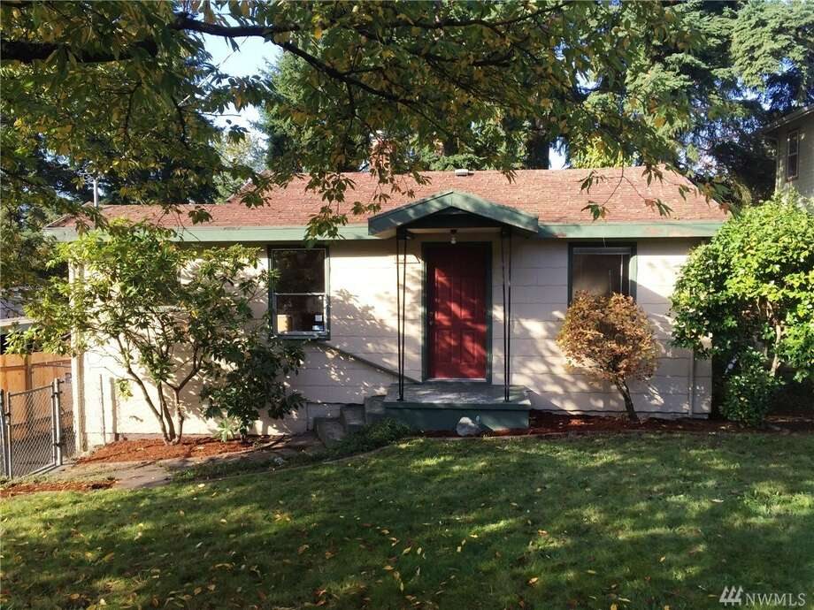 The first home, 11317 40th Ave. N.E., is listed for $357,900. The two bedroom, one bathroom home  sits on a large lot with a spacious backyard. It has a detached one-car garage.   There will be a showing for this home on Saturday, Nov. 14 from 12 - 3 p.m. You can see the full listing here. Photo: Keith Bruce/Sound Point Real Estate LLC