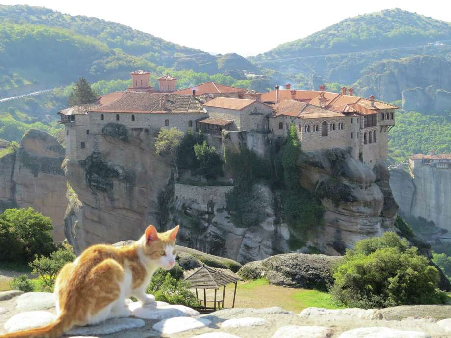 Chronicle reader Kaia Holt of Humble submitted this vacation photo of the Hanging Monasteries of Meteora, Greece. Photo: Kaia Holt / Kaia Holt