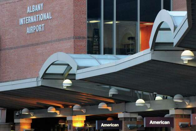 Albany International Airport on Friday Nov.13, 2015 in Colonie, N.Y. American Airline revives its nonstop service to Chicago, seven years after they ceased. Three direct flights to Chicago-O'Hare Airport will begin March 3, 2016. (Michael P. Farrell/Times Union) Photo: Michael P. Farrell / 00034255A