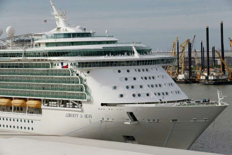 Marvelous Royal Caribbeanu0027s Liberty Of The Sea In Galveston. The Port Of Galveston  Has Tapped Rodger