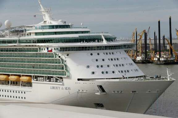 Royal Caribbean's Liberty of the Sea was in Galveston during November. Galveston saw more than 834,000 cruise passengers in 2015.