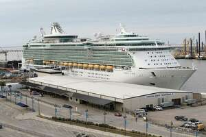 The Port of Galveston welcomed the largest cruise ship to ever sail from Texas when Royal Caribbean's Liberty of the Seas arrived in November, with a capacity of 3,600 passengers. It was one of the 2015 highlights for Houston-area shipping.