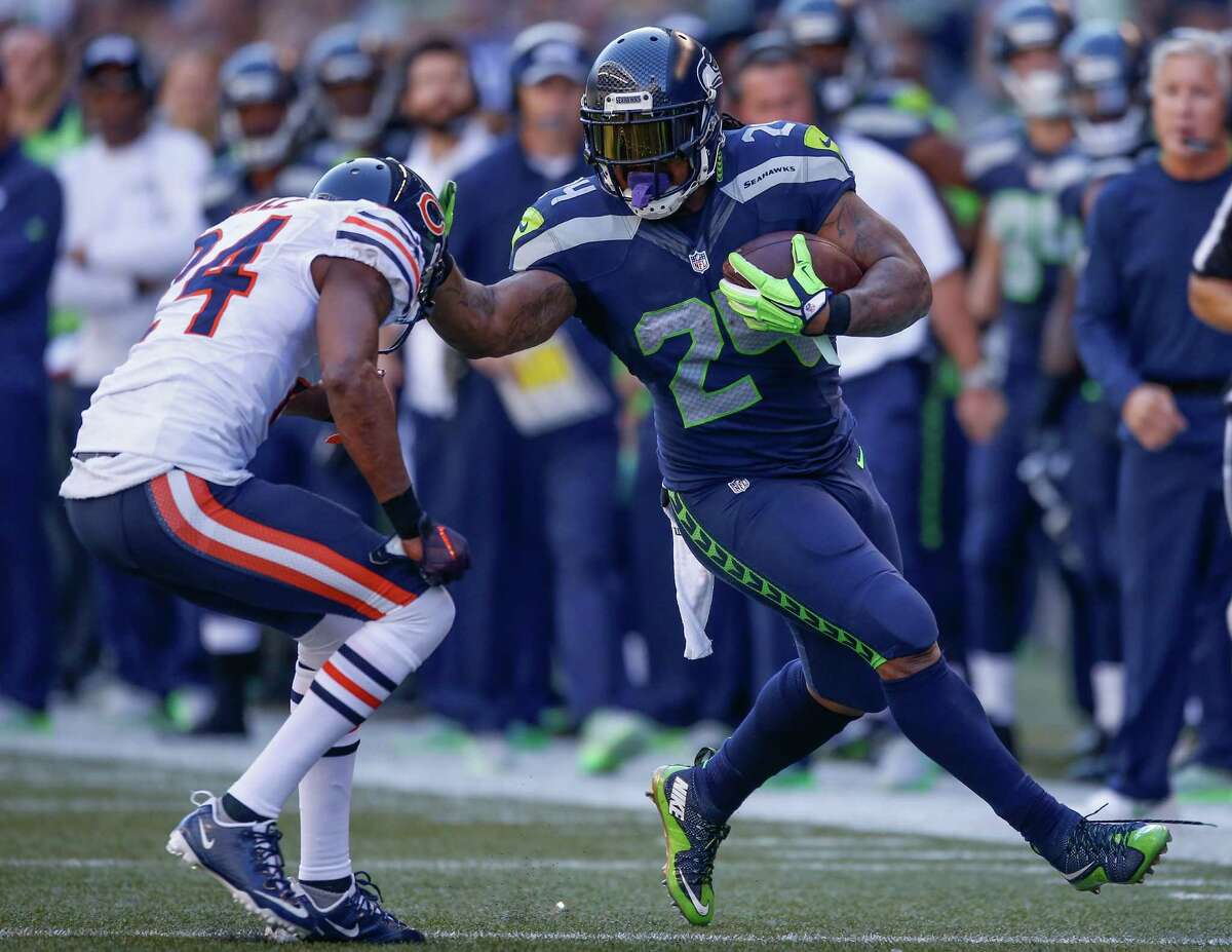 Feed the Beast Running back Marshawn Lynch, the engine of the Seahawks offense during their run to the pinnacle of the NFL, simply hasn't gotten going in 2015. Dealing with nagging injuries (which now includes an abdominal issue that could keep him out of Sunday's matchup with Arizona), Lynch has rushed for just 375 yards on 103 carries, with a career-worst 3.6 yards per carry. As good as Thomas Rawls has looked at times in relief of Lynch, Seattle simply needs