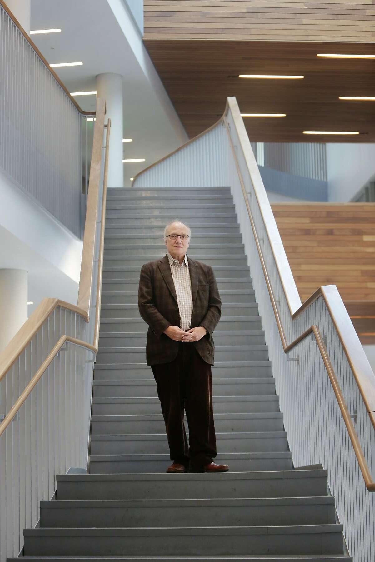Dr. Bruce Miller, UCSF behavioral neurologist, poses for a portrait at UCSF's Sandler Center for Neurosciences on Wednesday, November 11, 2015 in San Francisco, Calif.