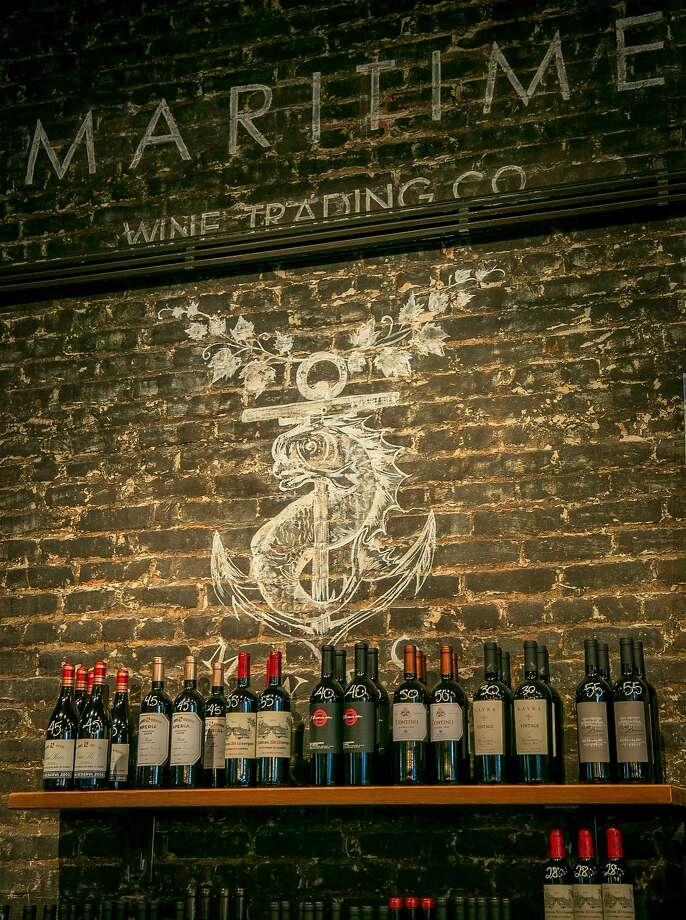 The interior of the unorthodox Maritime Wine Tasting Studio in San Francisco. Photo: John Storey, Special To The Chronicle