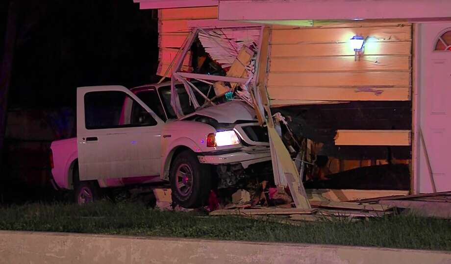 A man allegedly drunkenly lost control of his vehicle Nov. 14, 2015, and crashed into a home in the 2900 block of South New Braunfels Avenue. Photo: White, Tyler L, Courtesy/Marcus Floyd