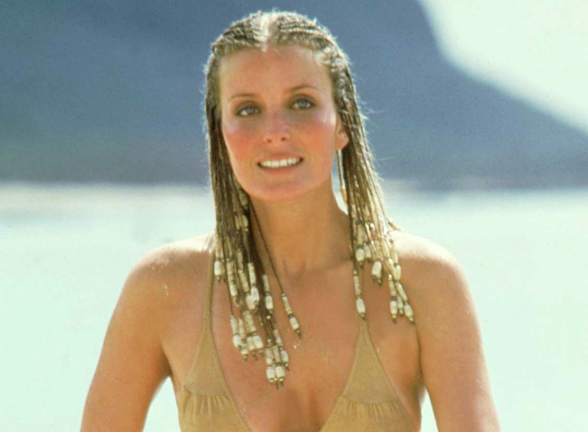 1979: The publicity shot seen 'round the world: Even people who have never seen Bo Derek in a movie have probably seen this photo promoting the movie that shot her to fame:
