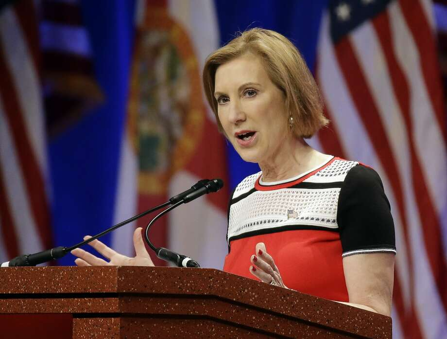 Carly Fiorina, who was beaten by incumbent Democrat Barbara Boxer in the 2010 Senate race, moved to Virginia, the home base for her current presidential run. Photo: John Raoux, Associated Press