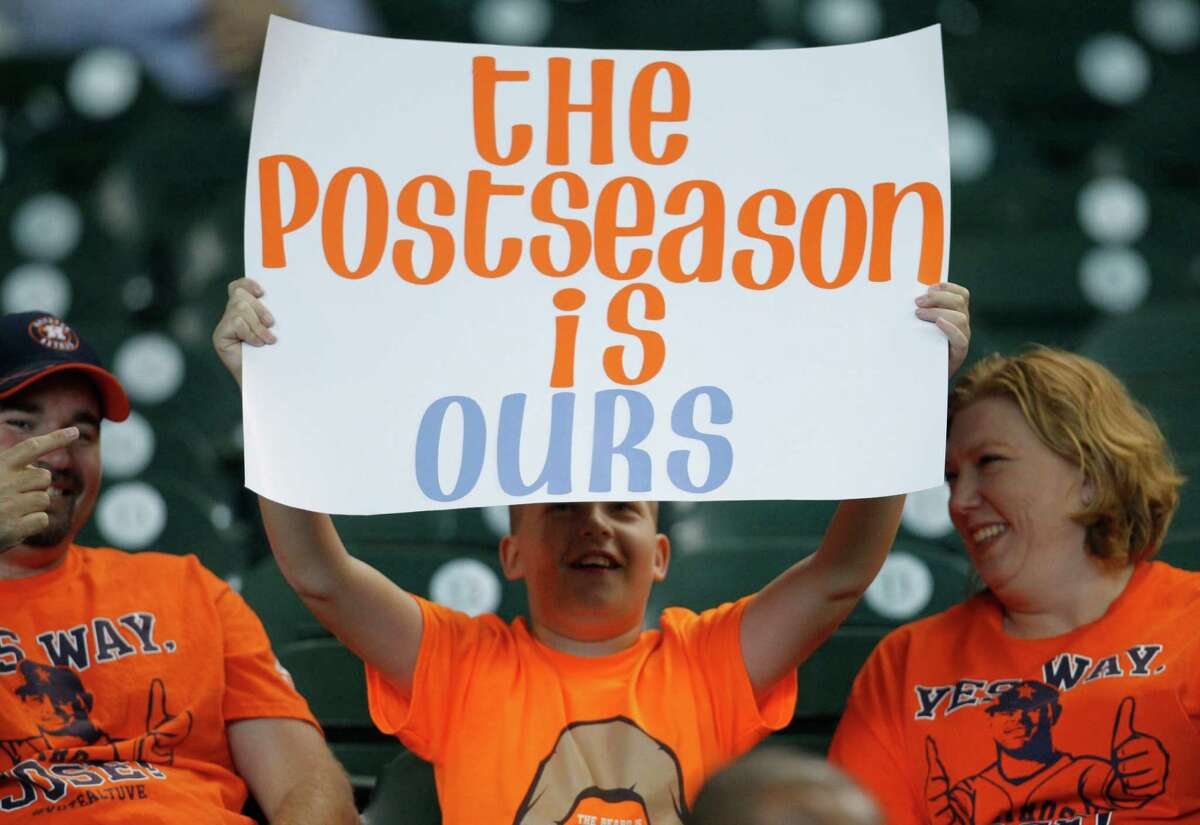 The Astros put their fans through years of misery and saw attendance plummet as a result before rewarding them with the first payoff from their rebuilding with a playoff run in 2015.