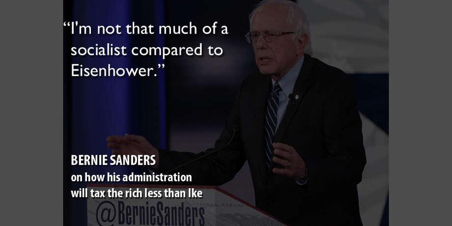 Bernie Sanders Photo: Getty Images