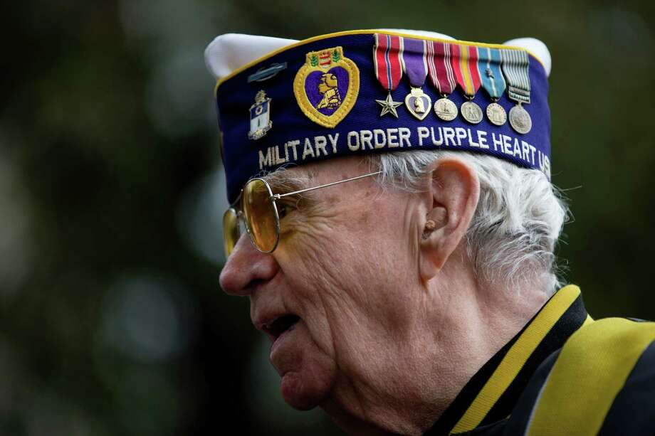 Veterans DayThe day is celebrated on November 11 to commemorate the signing of the Armistice to mark the end of the First World War. Photo: Matt Rourke, STF / AP