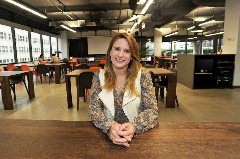 Lauren Kordalski moved to Stamford after graduating from a small college in Rhode Island and enjoys the urban environment of the city while also being a manageable place to live. Photo: Michael Cummo / Hearst Connecticut Media / Stamford Advocate