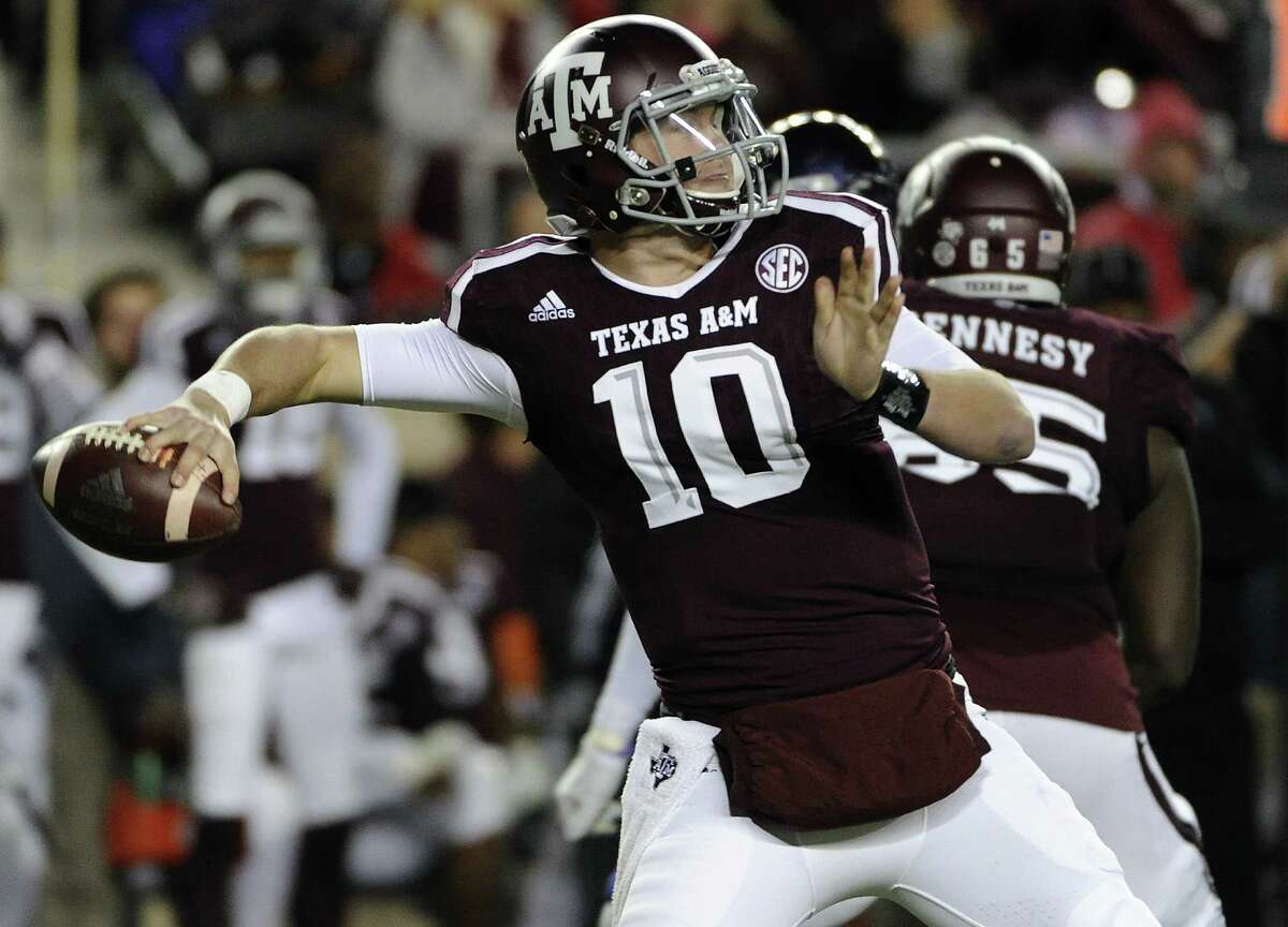 Texas A&M sophomore quarterback Kyle Allen implored fans via Twitter not to count him out after he lost the starting gig to freshman Kyler Murray midway through the season, and he was right. Allen played the fourth quarter of the Aggies' 41-17 victory over Western Carolina, and looked much sharper than Murray, who threw two interceptions in the first half and nearly threw about three more. A quarterback controversy has been reignited at A&M, and who will start at Vanderbilt is to be determined.