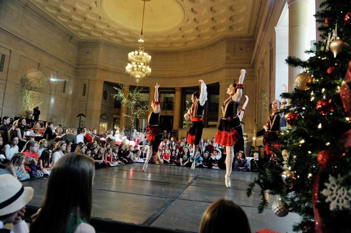 Members of the Northeast Ballet Company perform during the Saratoga Performing Arts Center's Annual Nutcracker Tea on Sunday, Nov. 15, 2015, in Saratoga Springs, N.Y. The ballet company took part in three performances on Sunday. The Northeast Ballet Company will perform the full Nutcracker Ballet at Proctors Theater on December 4th, 5th, and 6th. (Paul Buckowski / Times Union)