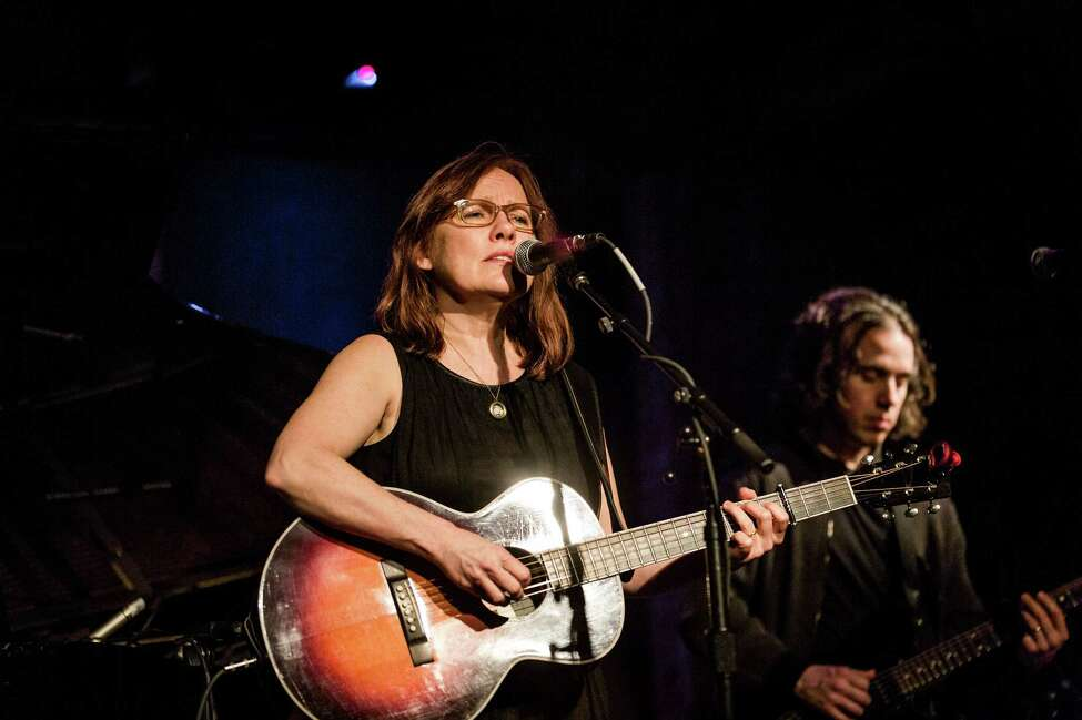 Iris DeMent performs at City Winery in New York, Jan. 20, 2013. American singer and songwriter DeMent performed Sunday to promote her new album,