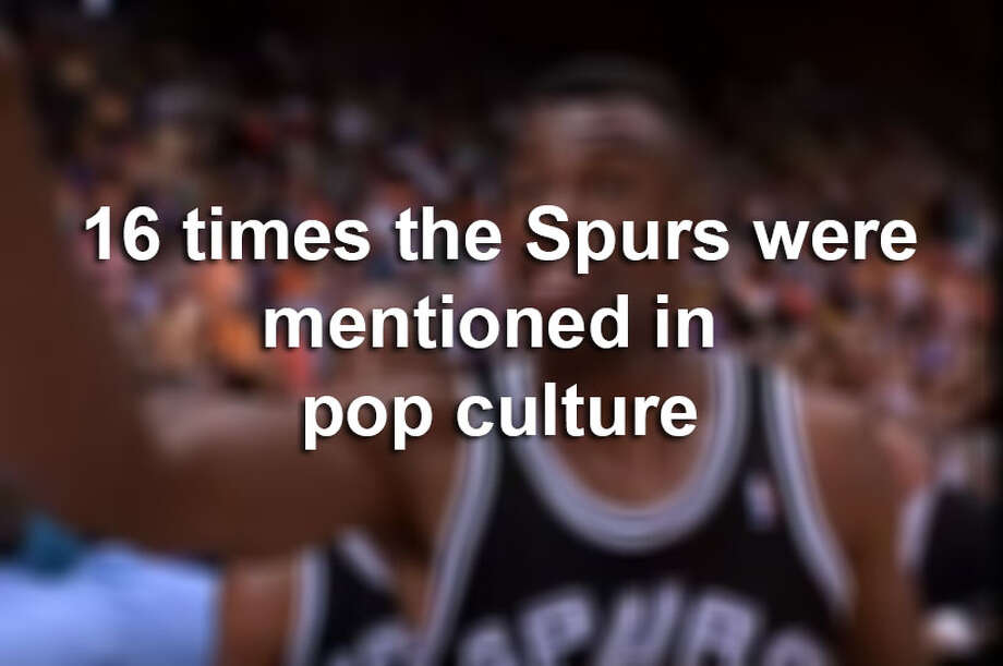 Sure, the Spurs are the stars of their own H-E-B commercials but outside of San Antonio, they aren't always in the pop culture spotlight.