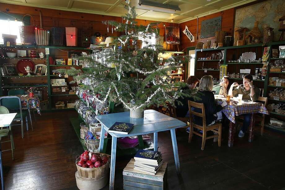 """Jimtown store and cafe in Healdsburg, owned by Carrie Brown, author of """"The New Christmas Tree."""" Photo: Liz Hafalia, The Chronicle"""
