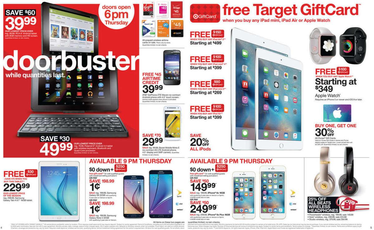 Target Black Friday Ads - 2015 (Closer Look)