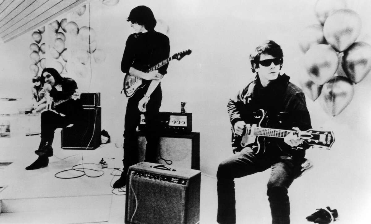 Photo of Lou Reed and John Cale and Velvet Underground; (Photo by Charlie Gillett Collection/Redferns)
