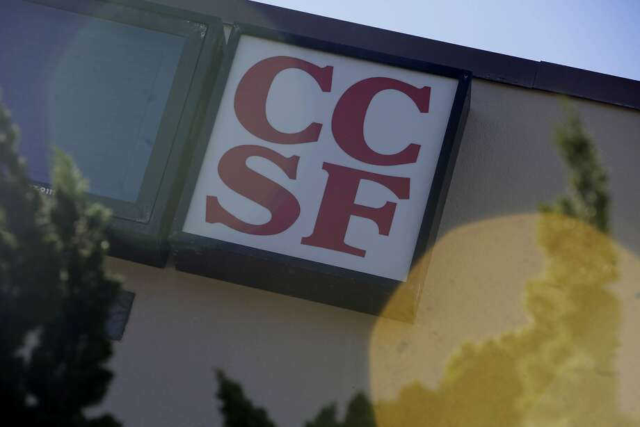 Signage for  City College of San Francisco is seen on Smith Hall at the City College of San Francisco Ocean Campus on Monday, November 16,  2015 in San Francisco, Calif. Photo: Lea Suzuki, The Chronicle