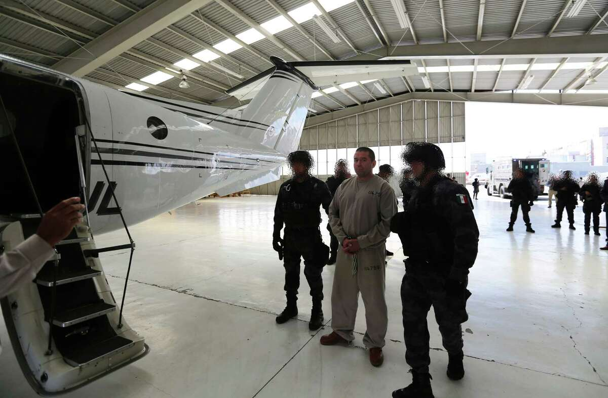 Pedro Alejandro Rubio Perez, an alleged member of the Knights Templar cartel, was extradited to the United States on Sunday. He has been charged with racketeering and drug trafficking.