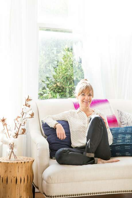 Lauren Nelson, interior designer and mother of two. Photo: Aubrie Pick