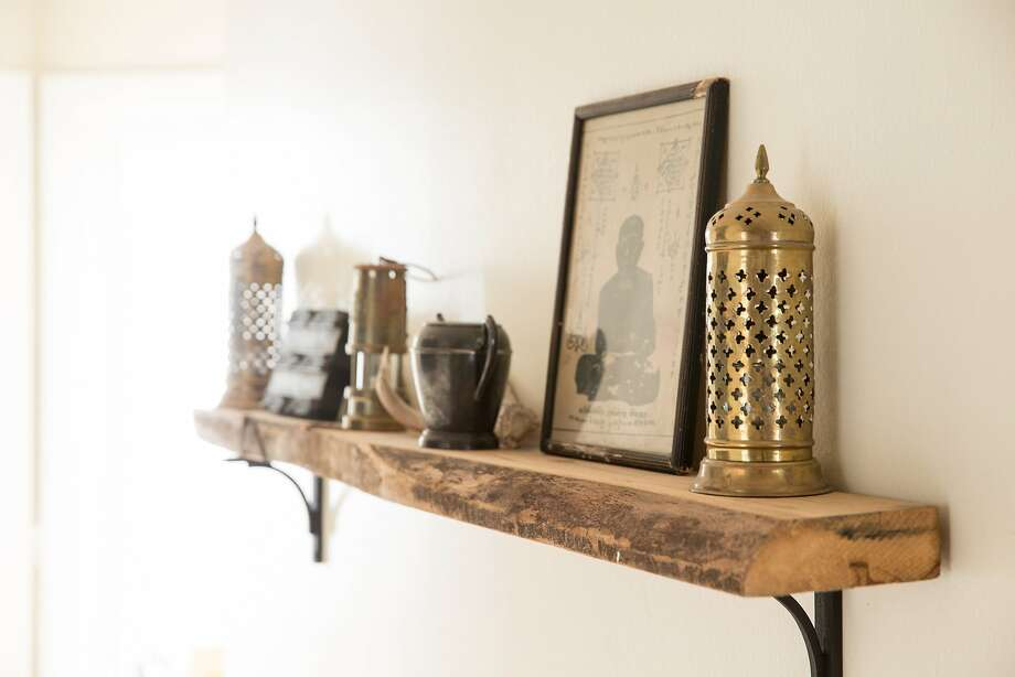 Interior Designer Lauren Nelsons San Francisco Apartment Uses Plenty Of Shelves For Vertical Storage Photo