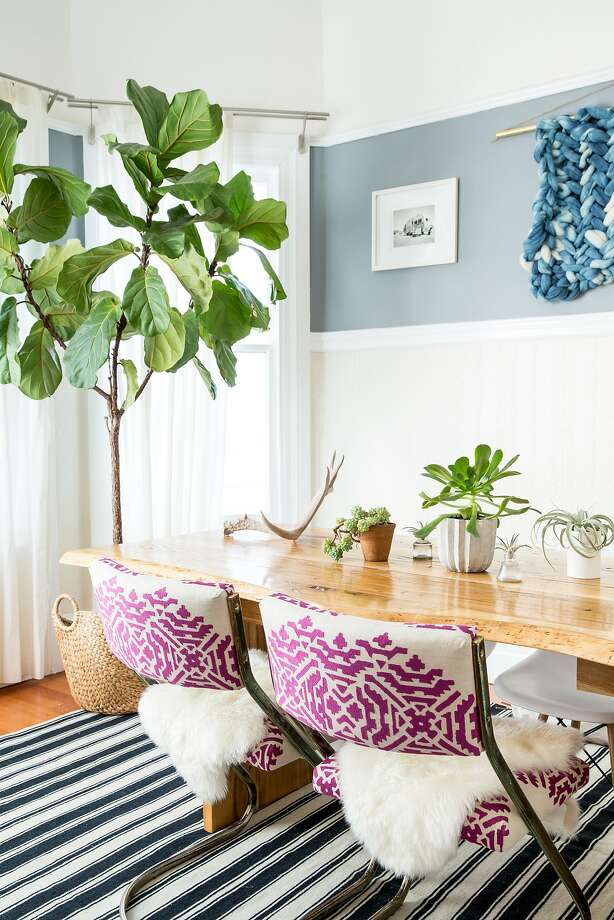 The dining room of interior designer Lauren Nelson's S.F. apartment. Photo: Aubrie Pick