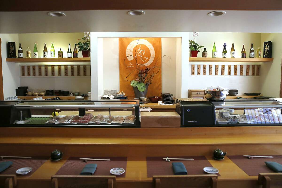 A view of An Japanese restaurant in San Francisco, California, on Friday, November 13, 2015.