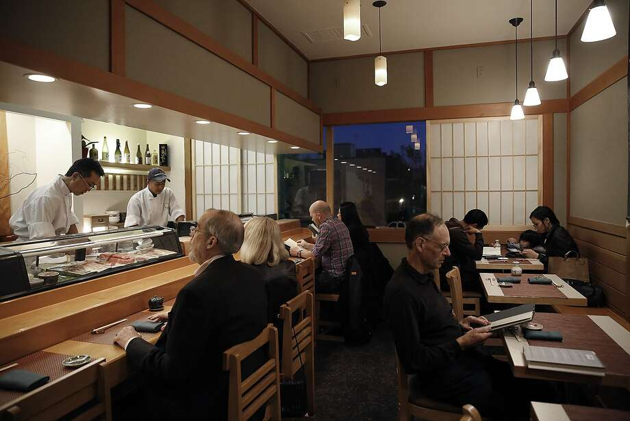 The small An Japanese Restaurant in S.F.'s Japantown. Photo: Liz Hafalia, The Chronicle