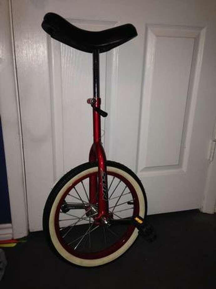 Unicycle, $50 Photo: Courtesy Of SoutheastTexas.com