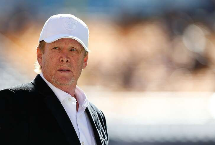 PITTSBURGH, PA - NOVEMBER 08:  Owner Mark Davis of the Oakland Raiders on the field before the start of the game against the Pittsburgh Steelers at Heinz Field on November 8, 2015 in Pittsburgh, Pennsylvania.  (Photo by Jared Wickerham/Getty Images)