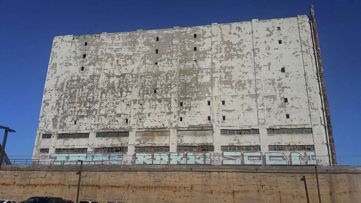The Central Warehouse is a much-derided eyesore that highly visible from Interstate 787, but also a gritty and tenacious survivor. (Photo by Chris Churchill / Times Union)