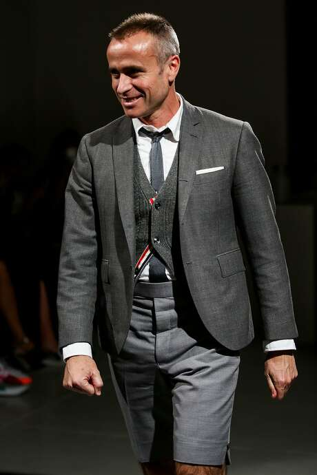 """Fashion designer Thom Browne will appear at a """"Fashion at Stanford"""" interview on the Stanford campus on Nov. 18, 2015, moderated by Town & Country editor Jay Fielden. Photo: Chelsea Lauren, Getty Images"""