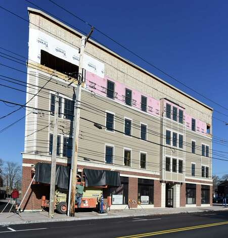 New apartments on Union just east of Barrett Street are just one of a number of new apartment buildings that are under construction Monday Nov. 16, 2015 in Schenectady, N.Y.       (Skip Dickstein/Times Union) Photo: SKIP DICKSTEIN / 00034270A