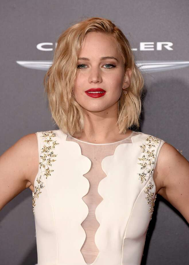 """Actress Jennifer Lawrence attends the premiere of Lionsgate's """"The Hunger Games: Mockingjay - Part 2"""" at the Microsoft Theater on November 16, 2015 in Los Angeles. Photo: Jason Merritt, Getty Images"""