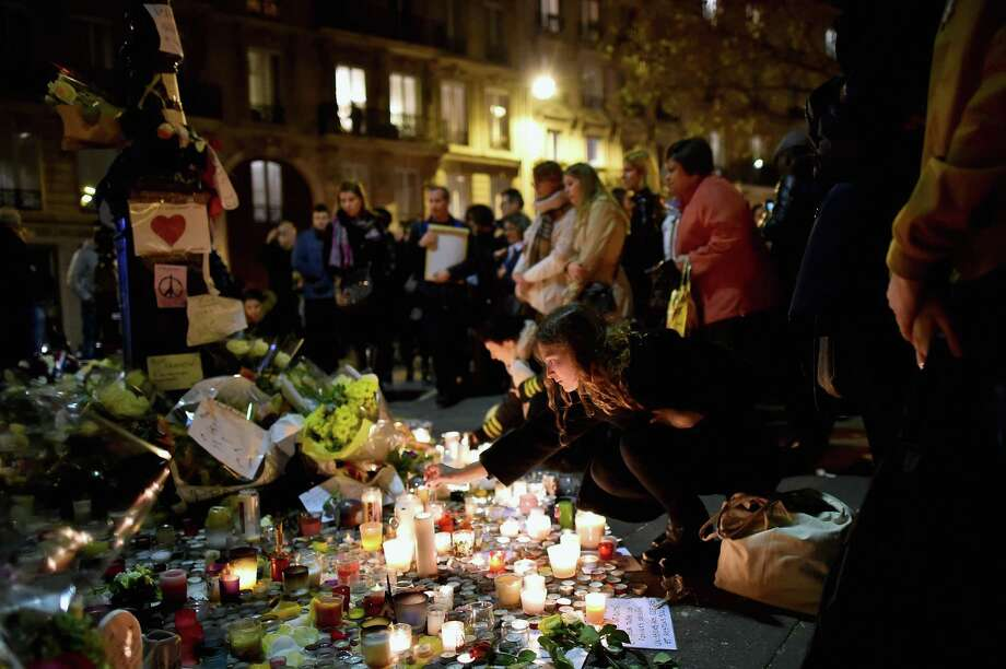 Poll*: The most important problem facing the U.S. today...Terrorism: 25.2 percent*Source: Reuters - Nov. 27, 2015. Photo: Jeff J Mitchell /Getty Images / 2015 Getty Images