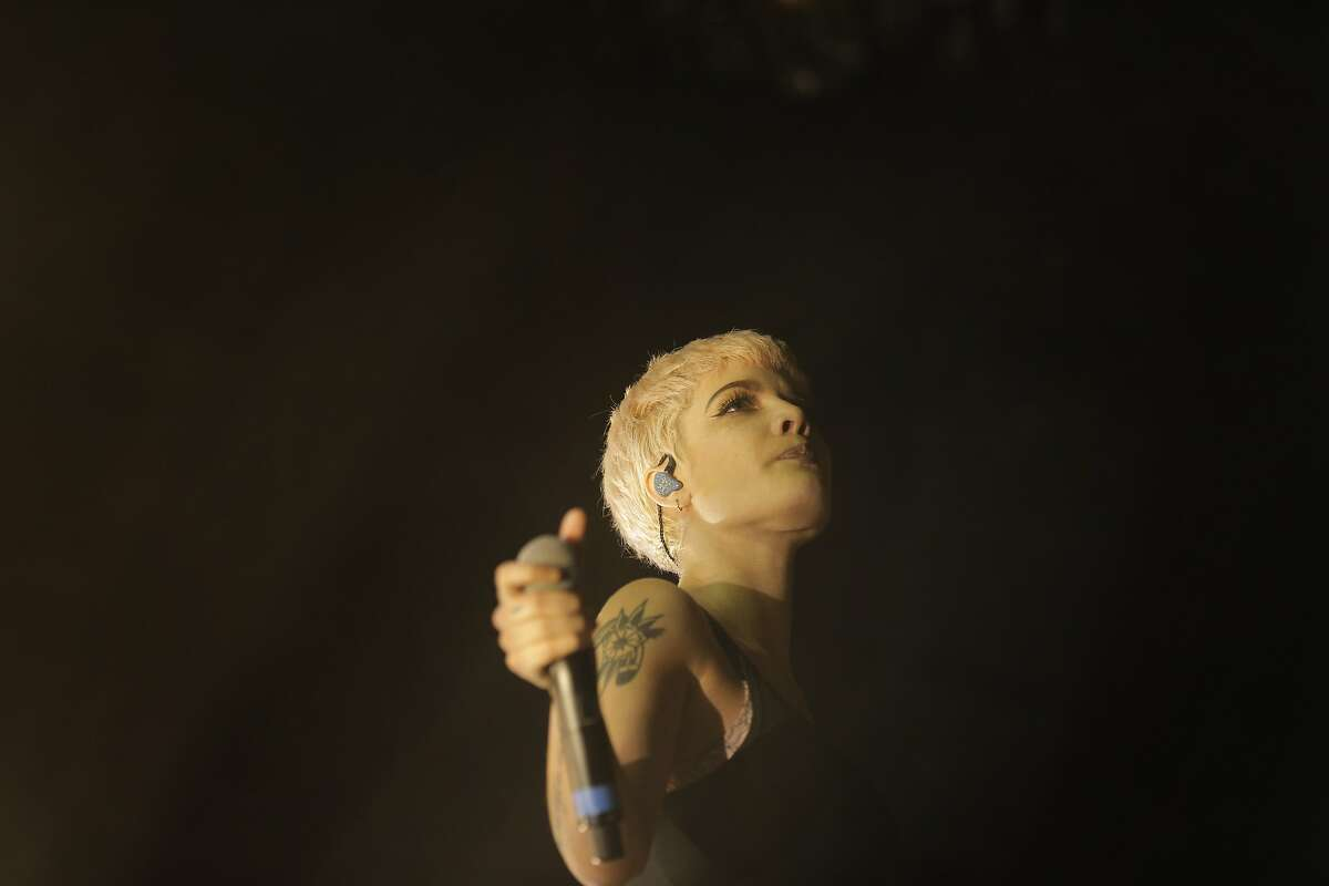 Halsey performed at The Fillmore in San Francisco, Calif., on Monday, November 16, 2015.