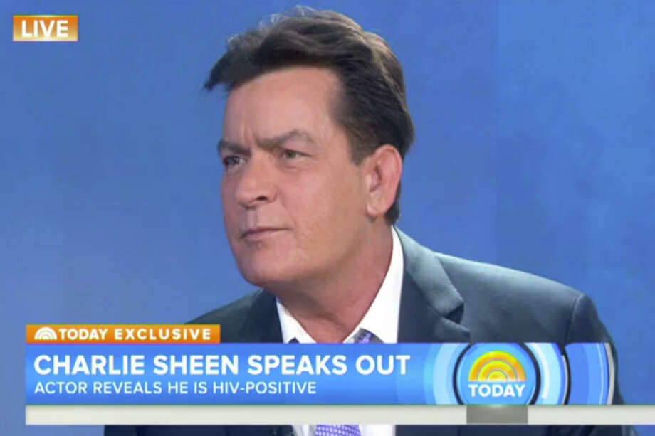"Former ""Two and a Half Men"" star Charlie Sheen Keep clicking to see other celebrities who have been diagnosed with HIV or AIDS."