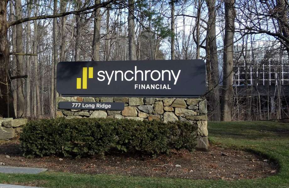 Synchrony Financial's headquarters at 777 Long Ridge Road in Stamford. Photo: Alexander Soule / Hearst Connecticut Media / Stamford Advocate