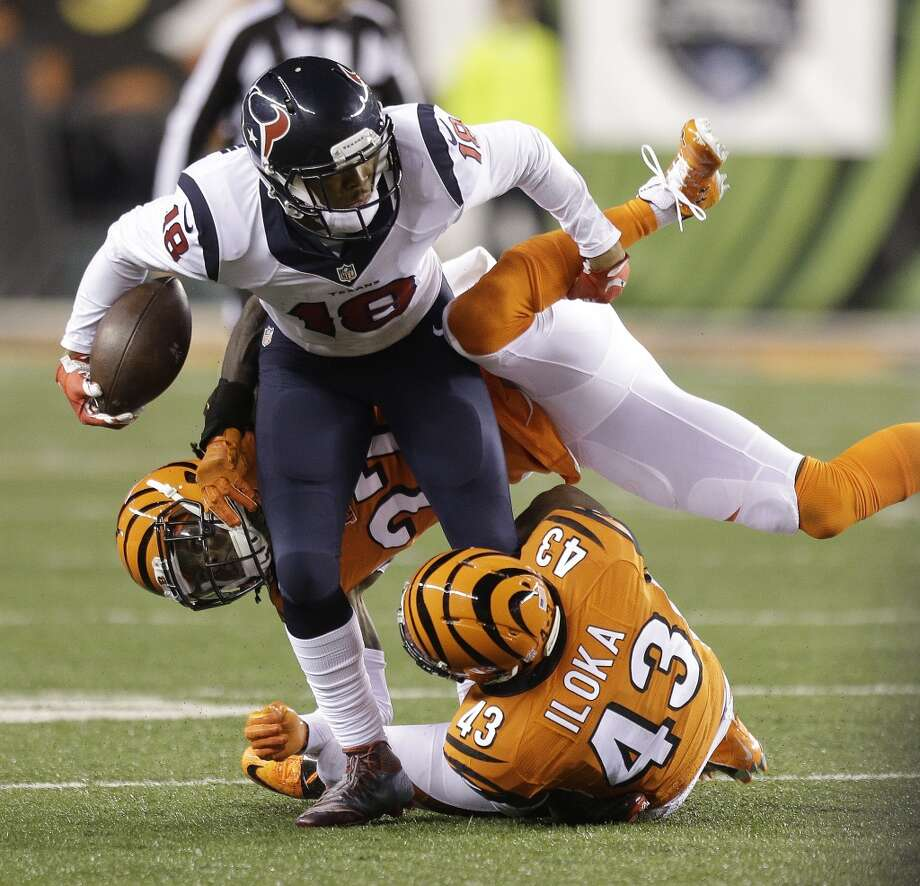 Injuries curtailed the impact of receiver Cecil Shorts in the Texans' offense in 2015.Click through the gallery to see John McClain's 2015 Texans report card. Photo: Brett Coomer, Houston Chronicle