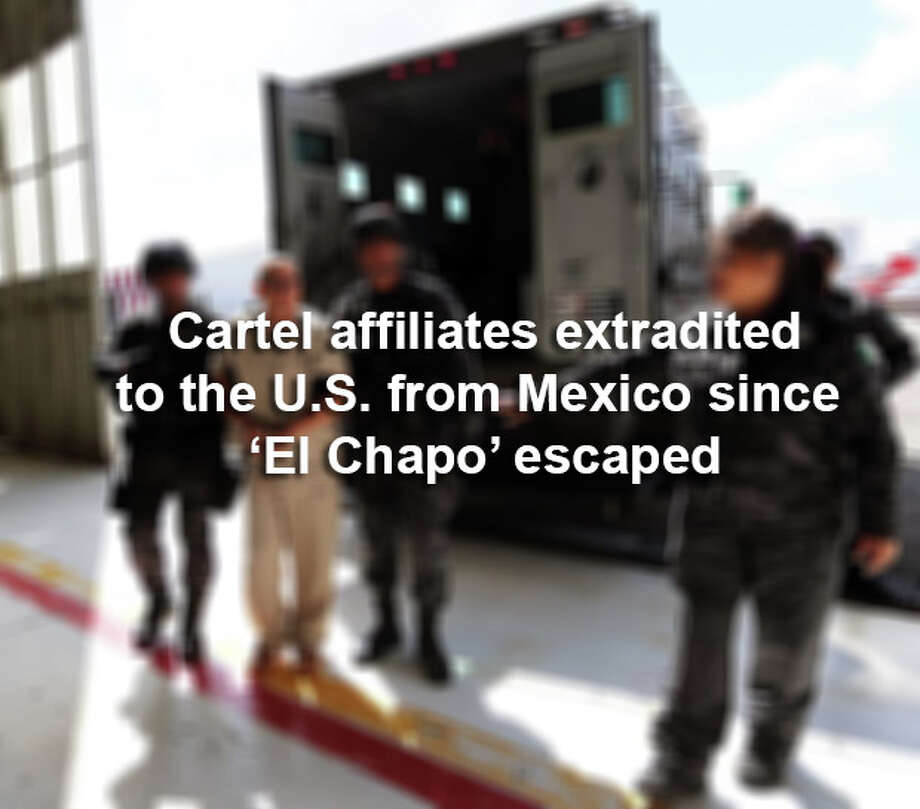 Click through the slideshow to see the cartel suspects sent to the U.S. since 'El Chapo' escaped.