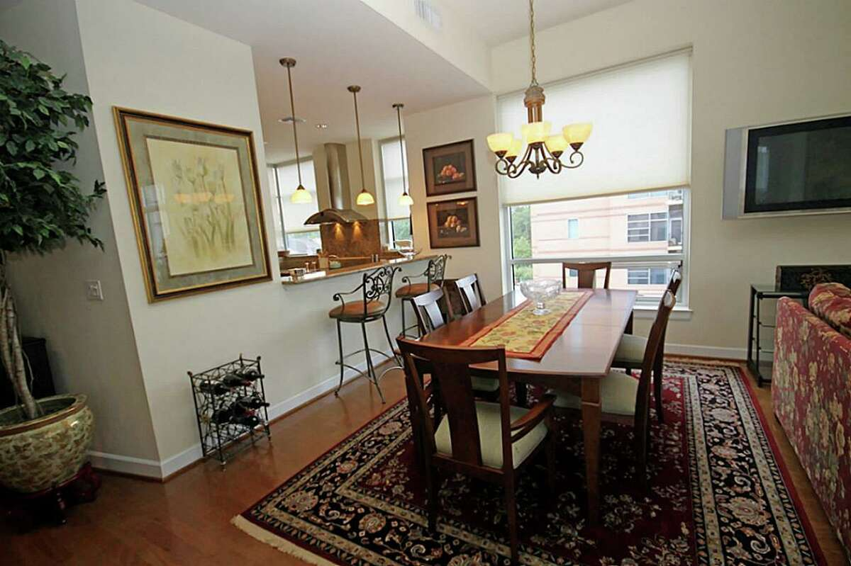 1 Waterway Court, Unit 4B in The Woodlands: 2,109 square feet / 3 bedrooms / 2 full and 1 half bathrooms / $1,150,000